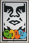Take Over print by Shepard Fairey & Cope 2 signed and numbered Obey giant