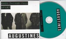 AUGUSTINES WHEN THINGS FALL APART RARE 1 TRACK PROMO CD