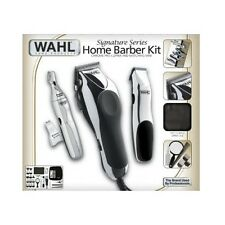 Home Barber Kit Clippers Scissors Razor Shears Professional Set Case Comb Kids