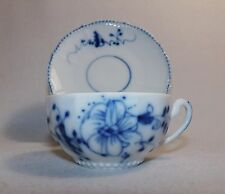 XX RARE ! Early Meissen Cup & Saucer Blue Onion 18th century