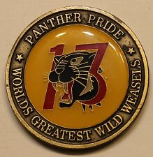 13th Fighter Squadron Panther World Tour 2002 Air Force Challenge Coin