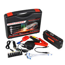 12V AUTO  68800mAh Portable USB Power Bank Car Jump Starter Rechargeable Battery