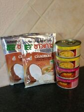 4Authentic Thai Mae Ploy Curry Paste Yellow,Massaman+2coconut Powder Curry Kit