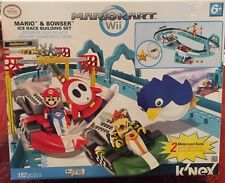MarioKart Wii Mario and Bowser KNEX Ice Race Building Set NEW Sealed FAST SHIP