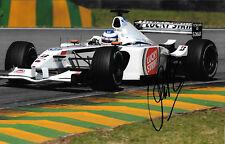 Olivier Panis SIGNED  BAR-Honda 004  , Brazilian GP Interlagos 2002