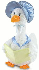 Cuddle Barn Blue Mother Goose Reads 5 Nursery Rhyme Stories Plush Toy CB2850