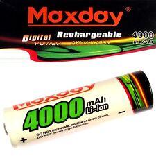 1 x maxday de iones de litio Batería 3,7 V Li-ion 4000 mah JyD 18650 65 x 18 mm