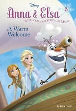 Anna & Elsa #3: A Warm Welcome (Disney Frozen) (A Stepping Stone Book(-ExLibrary
