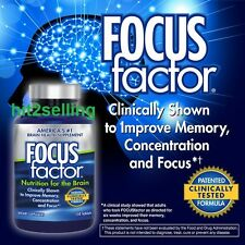 FOCUS Factor Brain Supplement (150 Tablets) Exp. 2019 Memory,Concentration NEW!
