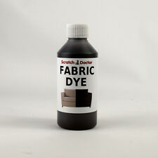 DARK BROWN Fabric Dye for Sofa, Clothes, Denim & more. Repairs & Re-Colours