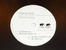 """HARAMBE - World Turning - UK 2002 4-track 12"""" Vinyl Single"""