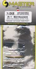 A-1 SKYRAIDER 20mm Gun Barrels & Pitot Tube 1/32 MASTER-MODEL 32-093