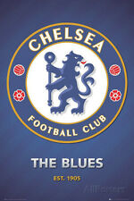 Chelsea FC Club Crest Poster Print, 24x36