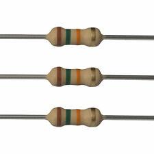100 x 15k Ohm Carbon Film Resistors - 1/2 Watt - 5% - 15K - Fast USA Shipping