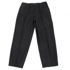Yohji Yamamoto COSTUME D'HOMME 2 tuck stripe pants Size 4(K-33633)