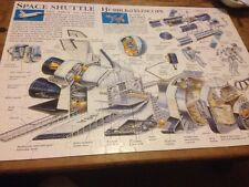 jigsaw puzzle space shuttle hubble telescope 7+ astronaut rocket ship 200 pieces