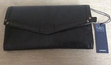 Marks And Spencer  black purse.