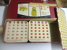 FINGER-TIP BINGO SHUTTER CARDS With Box & Numbers