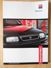 DAIHATSU Applause orig 1998 UK Market sales brochure