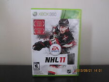 NHL 11  (Xbox 360, 2010) *Tested/Complete/Mint