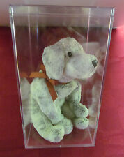 TY BEANIE BABY TRICKS THE DOG  2000 RETIRED WITH FREE DISPLAY BOX MWMT