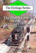 Railroad DVD: Illinois Central in 1990: Single tracking the mainline