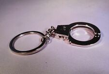 STAINLESS STEEL HAND CUFF KEY CHAIN GREAT LAW ENFORCEMENT OFFICER GIFT