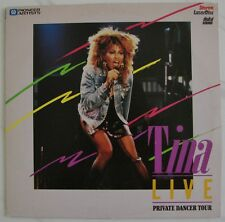 TINA TURNER  LIVE PRIVATE DANCER Tour  with  David BOWIE  Bryan ADAMS  Laserdisc