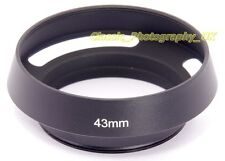 E43 Vented Lens Hood 43mm for LEICA Summilux-M 50mm 1.4 SUMMILUX 1:1.4/50mm