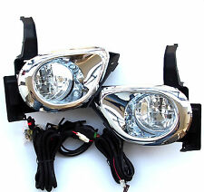 Honda CR-V MK II 2004-2006 LAMP LIGHTS Front Fog Light one Set LH+RH Chrome