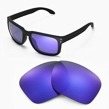 New Walleva Polarized Purple Lenses For Oakley Holbrook