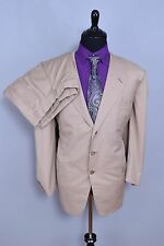 True VTG Neiman Marcus Oxxford Clothes Men's 2PC Suit 50R 44W Made-To-Order