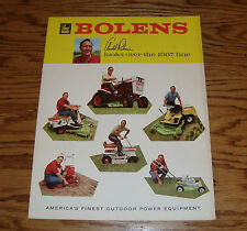 Original 1967 Bolens Outdoor Power Equipment Sales Brochure 67 Arnold Palmer