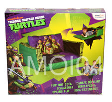Teenage Mutant Ninja Turtles Kids Boys Inflatable Flip Out Sofa - 2 Person *New