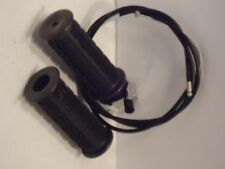 """Mini Bike Chopper 7/8""""THROTTLE and 53"""" cable  ASSEMBLY GRIP TRIUMPH  MOTORCYCLE"""