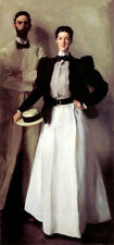 Large Oil painting John Singer Sargent Mr Mrs Isaac Newton Phelps Stokes canvas