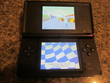 Nintendo DS Lite Rose Black with 1 game