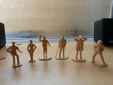 Scalextric Classic C634 Spectator Figures X6.Unpainted & Unpacked.Unused.