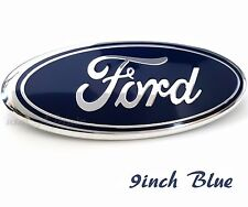 Ford 2004-2014 F150 Front Grille Tailgate Blue Emblem 9 inch Oval 3D Badge New