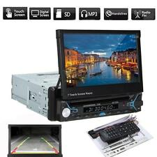 7'' 1 DIN Bluetooth Car MP5 MP3 DVD Player Stereo Audio USB SD AUX FM Radio IR