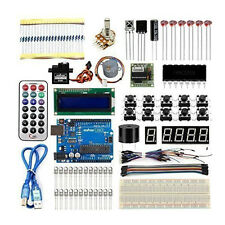 Complete Starter Kit UNO R3 1602 LCD Breaddboard LED For Arduino Projects