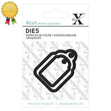 Xcut Mini Dies *GIFT TAGS* 2 Piece - by DoCrafts - Die Cutting - Labels