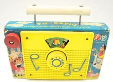 Vintage Fisher Price Toys TV-Radio