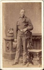 CDV photo KuK Soldat - Salzburg 1880er