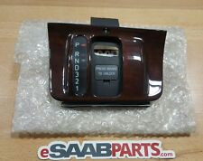 NEW Genuine Saab 9000 Wood Shifter Surround - Automatic (94-98 9000) NOS 4519849