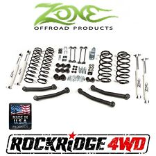 "Zone Offroad 4"" Suspension Lift Kit for Jeep Wrangler TJ LJ 03-06 J11 4x4"