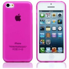 NEW PINK GEL SKIN CASE COVER POUCH FOR IPHONE 4 4G UK