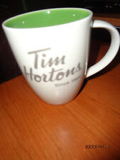 Tim Hortons 2014 Coffee Mug/Green Inside - NEW