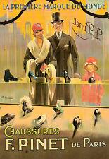 Chaussures f pinet de paris mode haute couture poster print