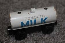 Thomas & Friends Wooden Tidmouth Milk Tanker Car Wood the Train 2001 Wood Toy